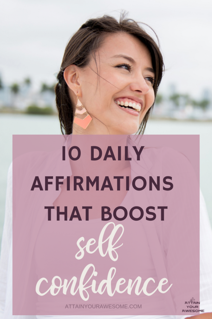 10 Daily Affirmations That Boost Self Confidence