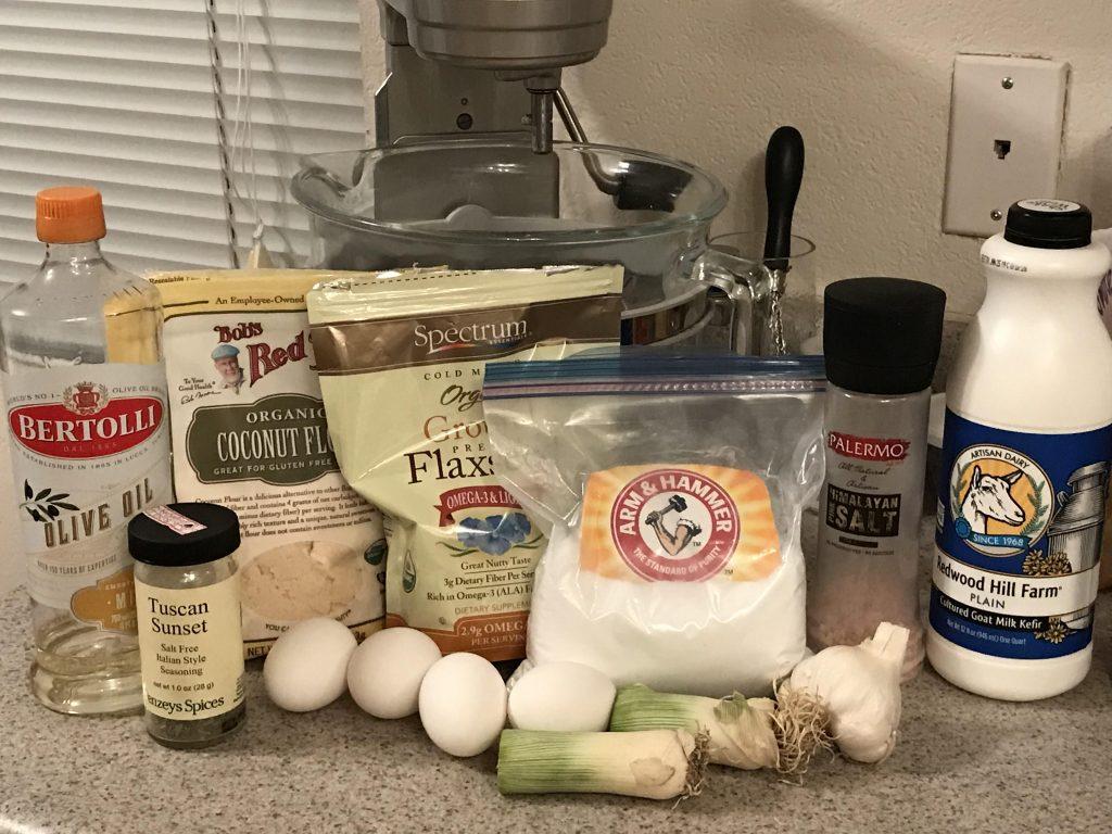 Candida Friendly Italian Focaccia Bread Recipe Ingredients